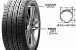 后轮胎规格