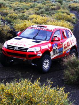 2016年5月15日,中国汽车越野拉力锦标赛(ccr)20